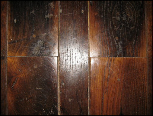 Shrinkage in oak flooring
